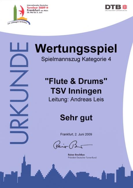 IDTF-Urkunde